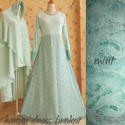 Hanan Dress brokat MINT