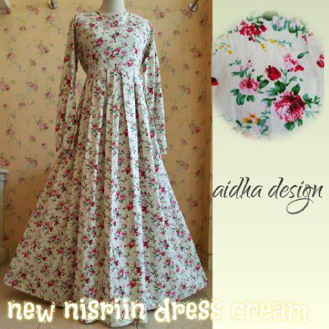 New Nisriin Dress Cream