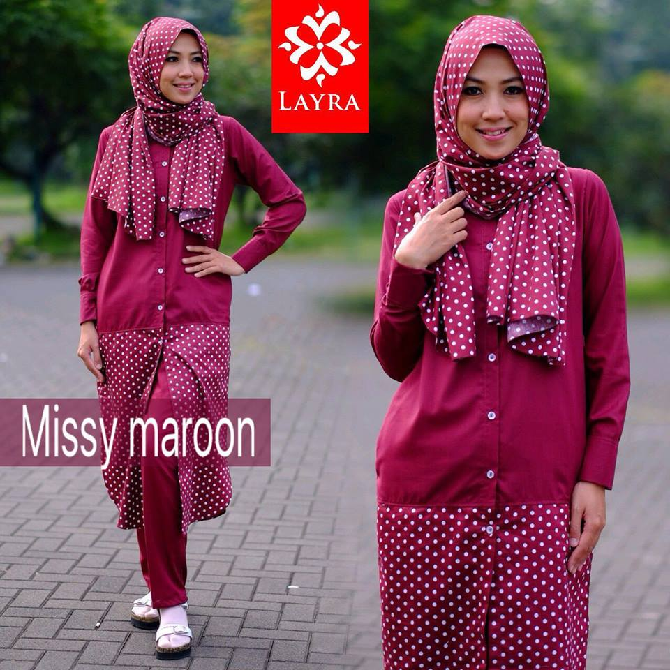 Missy set by Layra MAROON