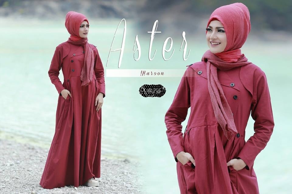 ASTERby HD LILY MAROON