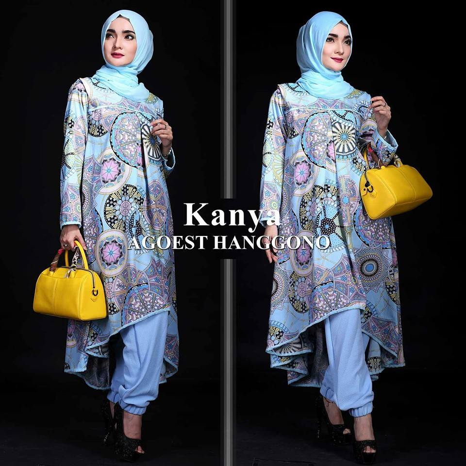 KANYA by AGOEST HANGGONO BABY BLUE