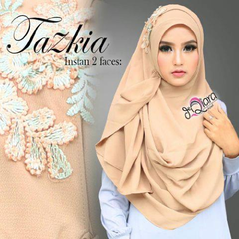 New Instant Two Faces Tazkia CREAM