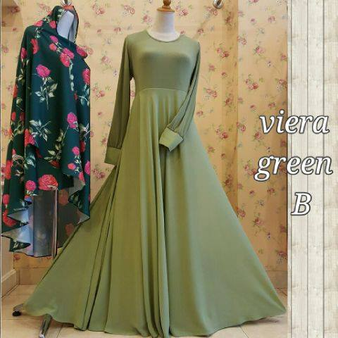 Viera flower dress A