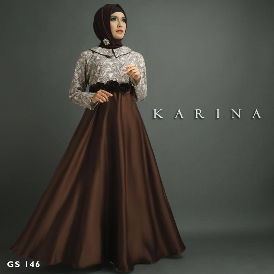 KARINA GS 146 by SHIRAAZ COKLAT