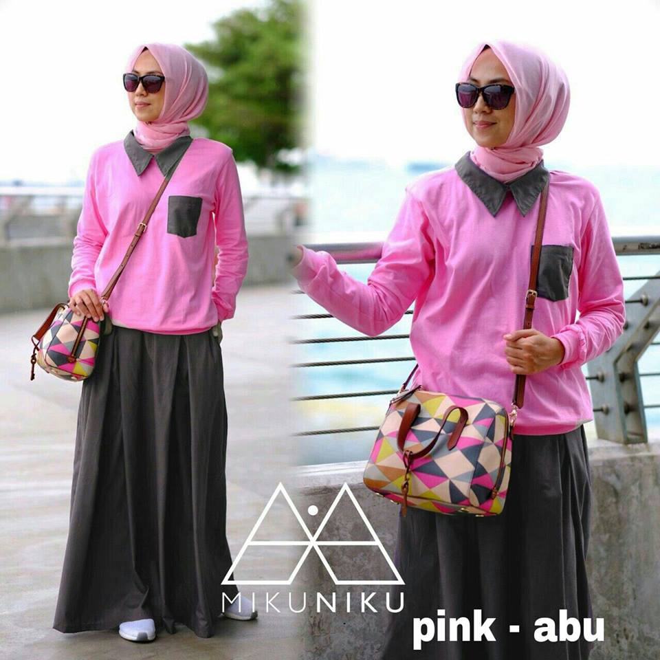 MILLI SET by MIKUNIKU Pink Abu