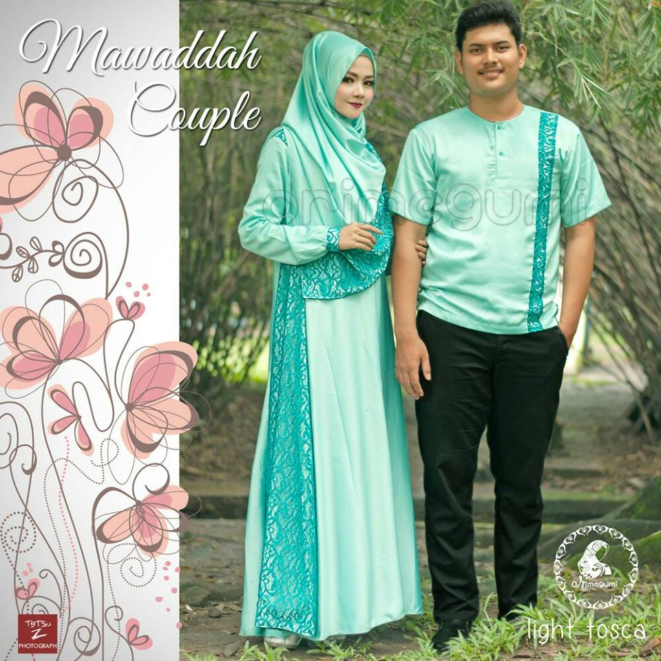 Mawaddah Couple By Orimegumi Light Tosca