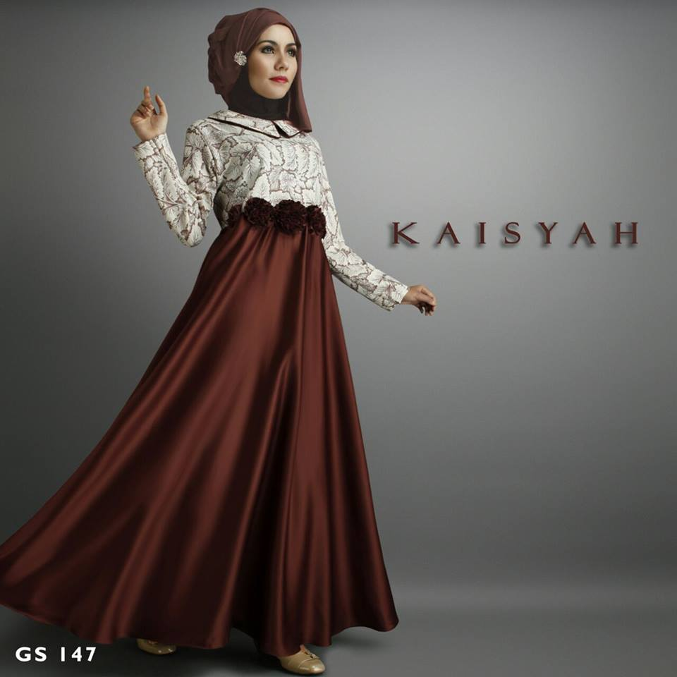 KAISYAH DRESS by SHIRAAZ COKLAT