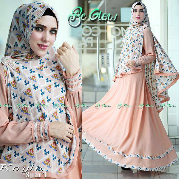 Kayla syar'i by Be Glow Peach