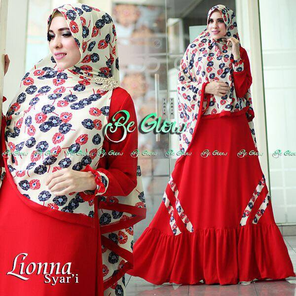 LIONA RED by BE GLOW