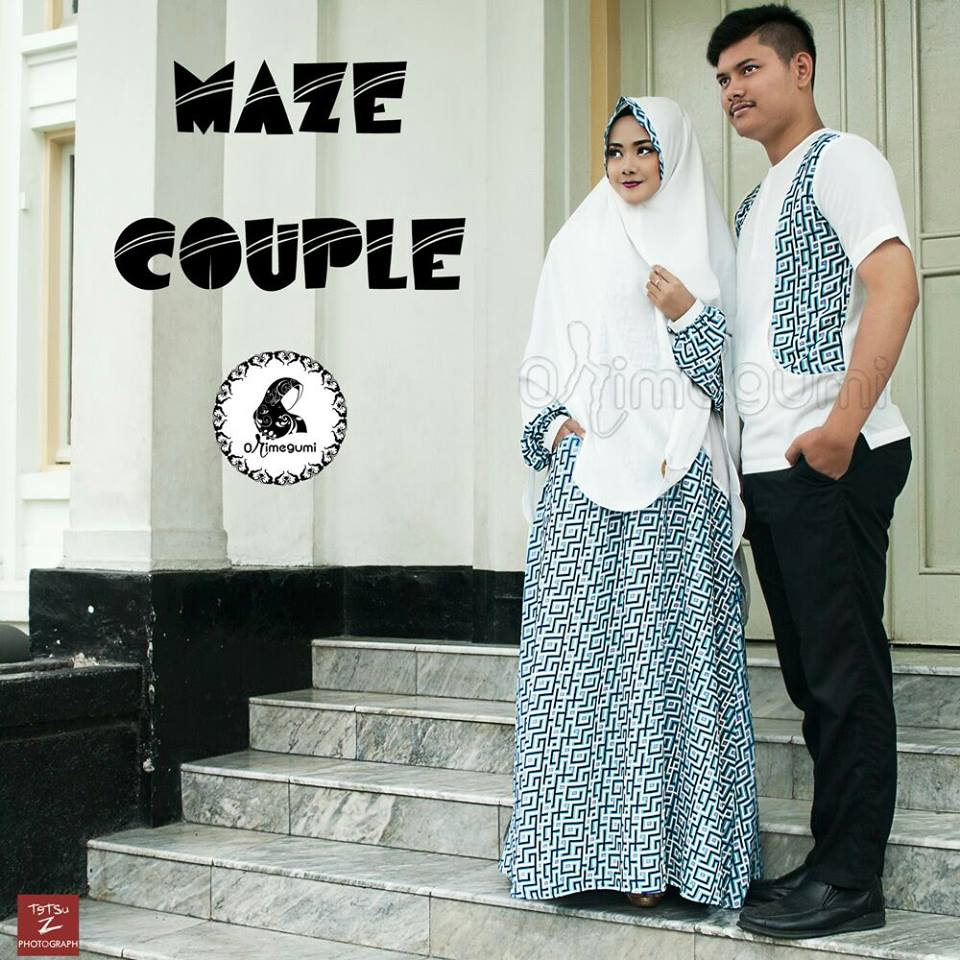 Maze Couple By Orimegumi putih biru