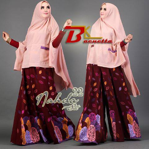 Nahda vol 22 set syar'i Salem by BAENETA