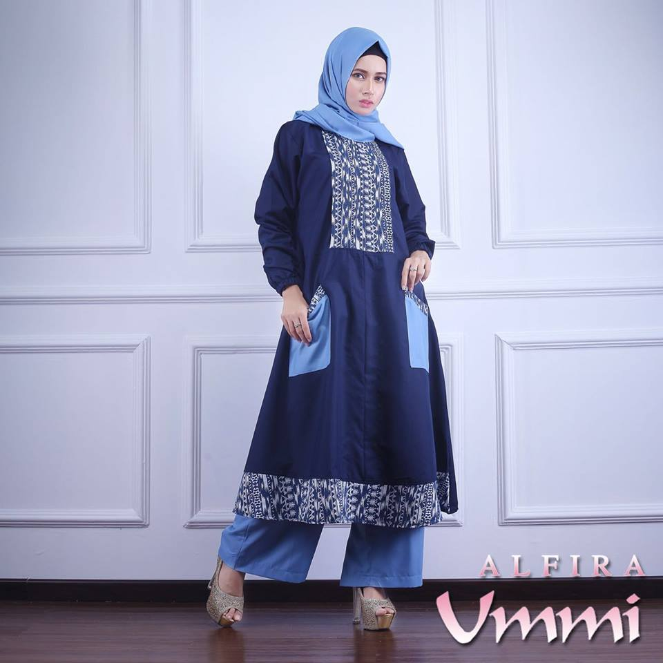 ALFIRA NAVY by UMMI
