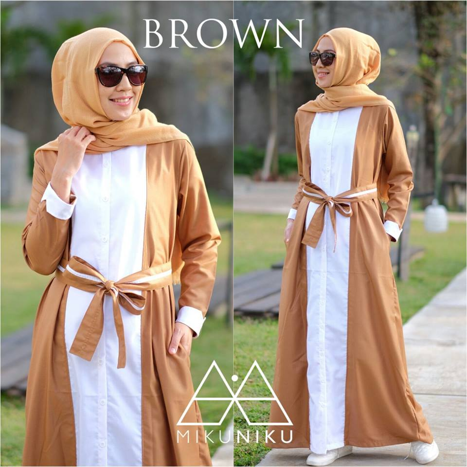ARUMI DRESS by MIKUNIKU BROWN