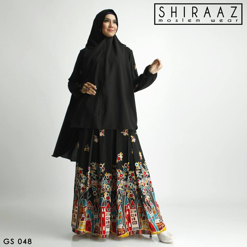 GS 048 HITAM by Shiraaz