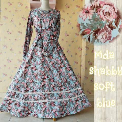 Rida Dress Soft Blue