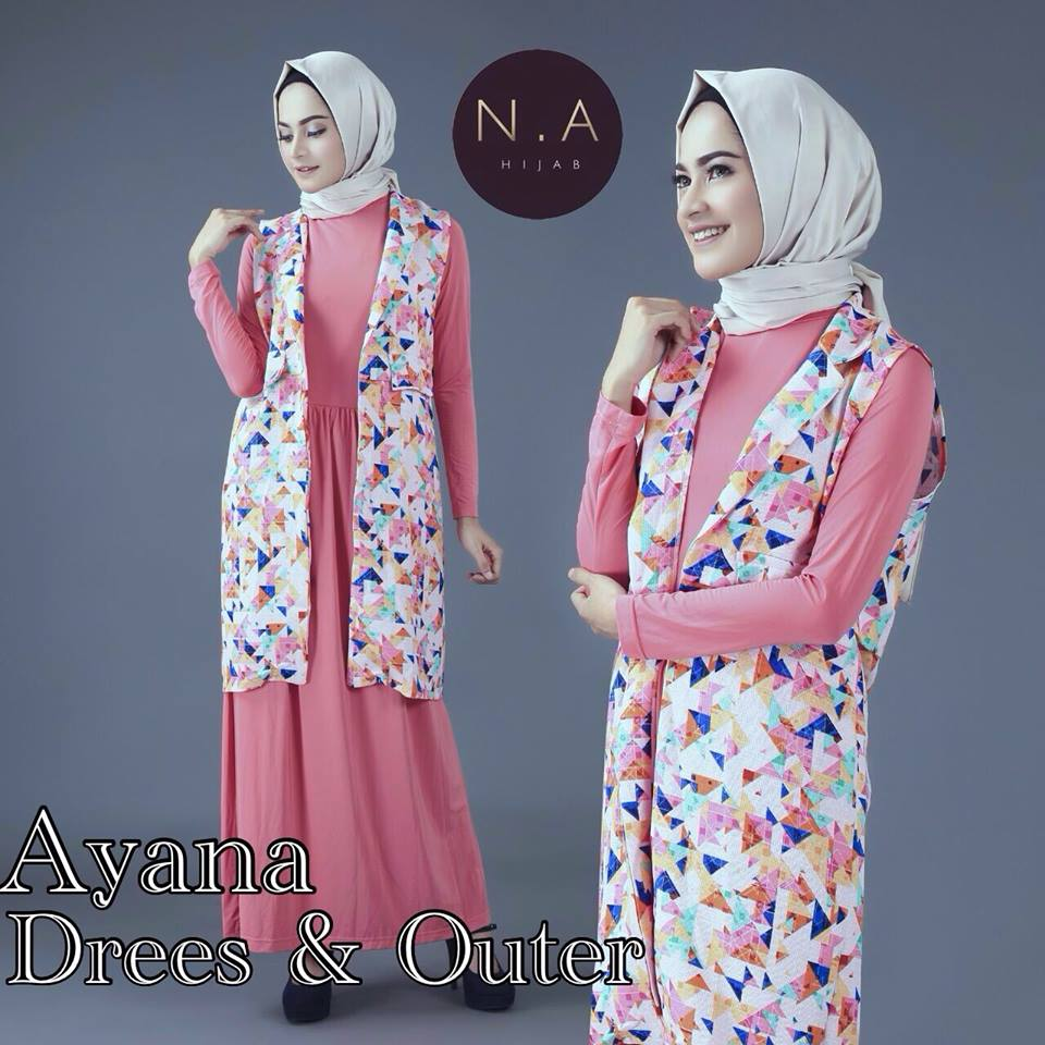 AYANA By N•A HIJAB PINK
