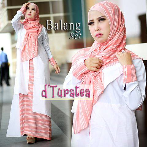 BALANG SET White by D'TURATEA