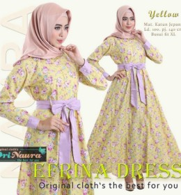 EFRINA DRESS YELLOW by ORI NAURA