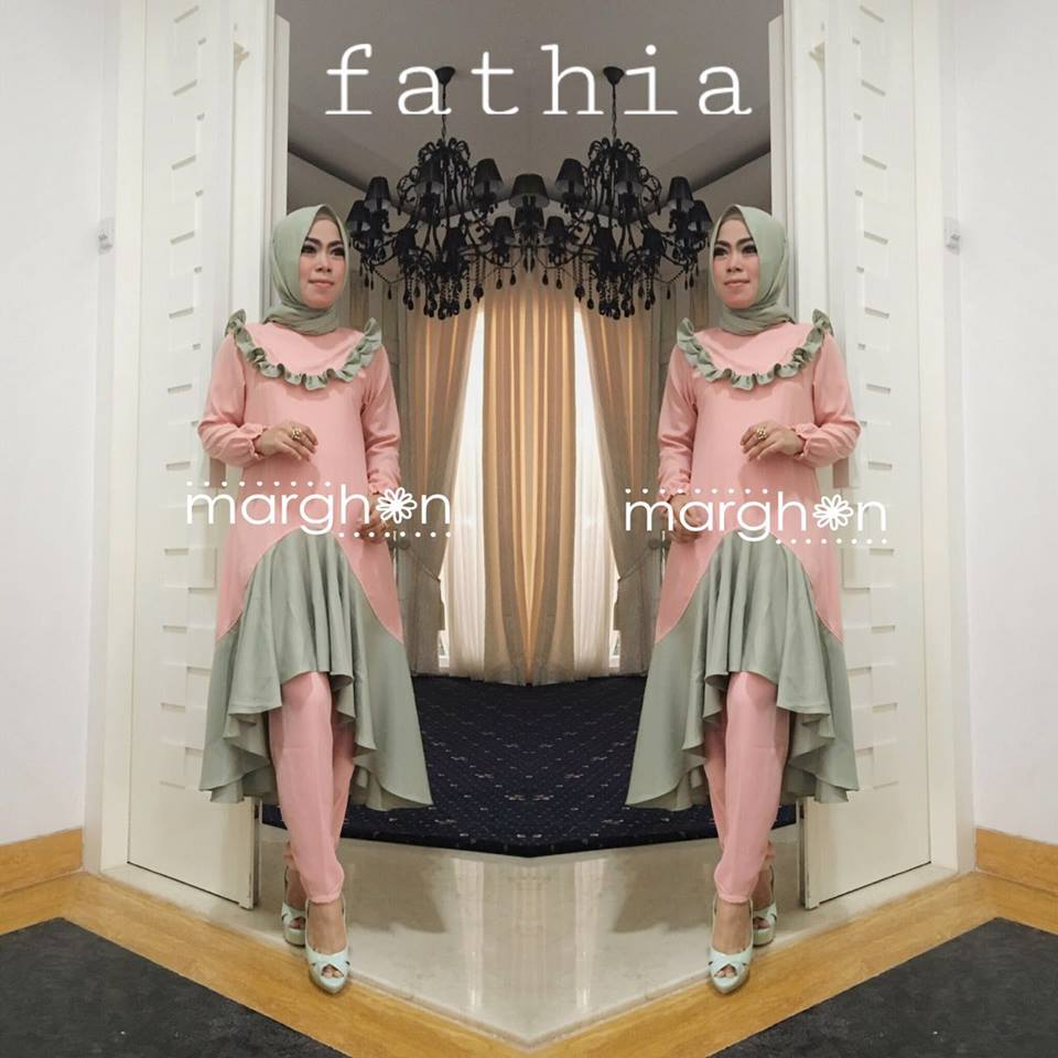 Fathia Set PEACH by Marghon