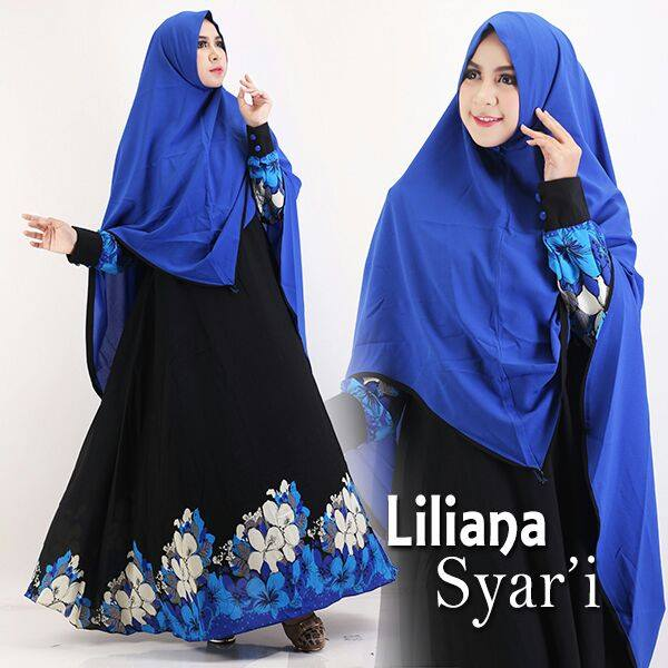 Liliana Syarie by GS biru