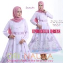 UMBRELA DRESS by ORI NAURA LAVENDER