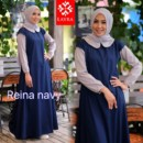 Reina dress by LAYRA NAVY