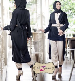 nafiza-set-hitam-by-al-zeimna