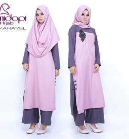 KARAVEL SOFT PINK by NIDOPI HIJAB