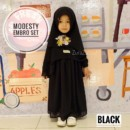 MODESTY EMBRODERY SETBlack by ZURA