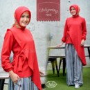 WIDYANING RED By ZAILA FASHION