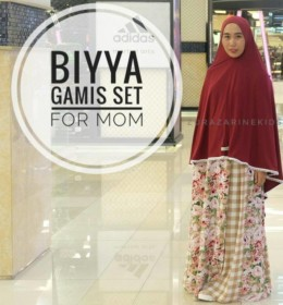 BIYYA MOM AND KID GAMIS SET by ZURAZARINE KIDS.