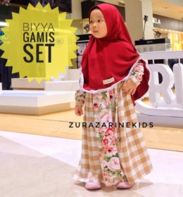 BIYYA MOM AND KID GAMIS SET by ZURAZARINE KIDS.D