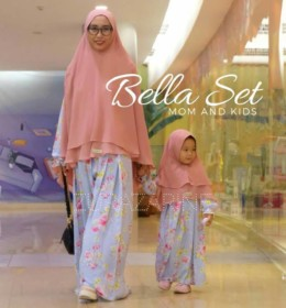 BELLA MOM AND KID GAMIS SET by ZURAZARINE KIDS.