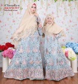 Claudiya Coklat by Akhwat