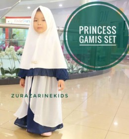 PRINCESS gamis set by ZURAZARINE KIDS. p