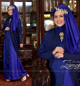 ZAIMAH Navy by ANADINE