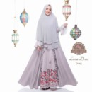 LUNA DRESS Grey