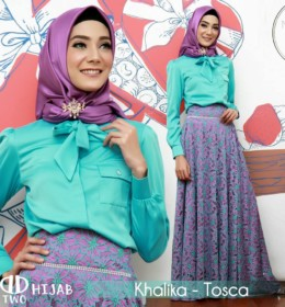 KHALIKA by D-Two Hijab t