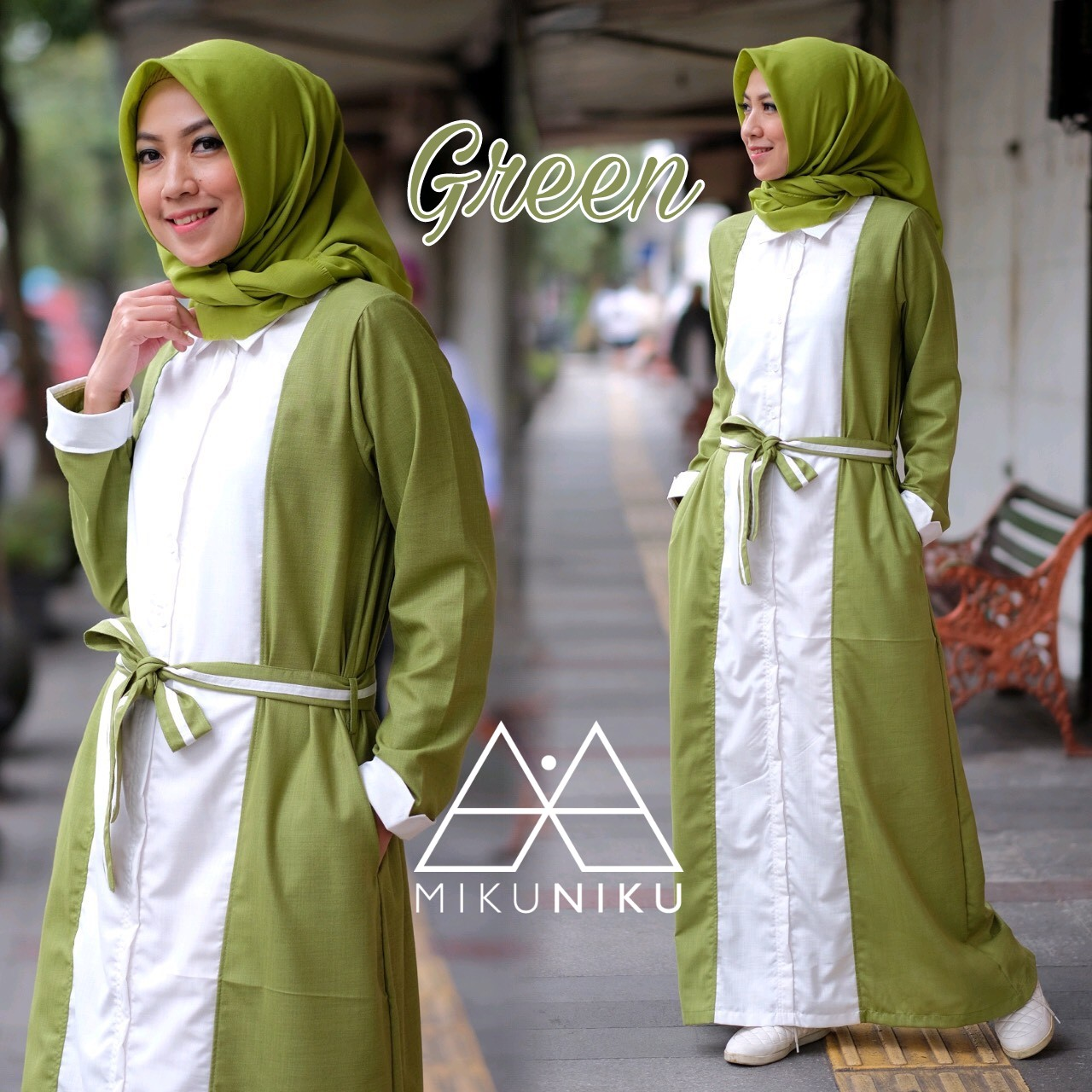 ARUMI DRESS Vol.2 GREEN by MIKUNIKU