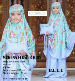 MUKENA FLOWER KIDS by ORINAURA b