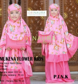 MUKENA FLOWER KIDS by ORINAURA p