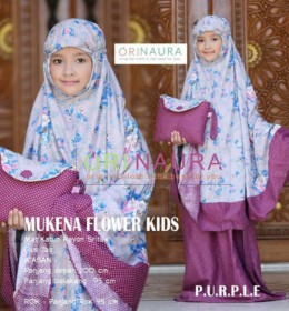 MUKENA FLOWER KIDS by ORINAURA pr