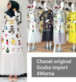 Channel dress 2018