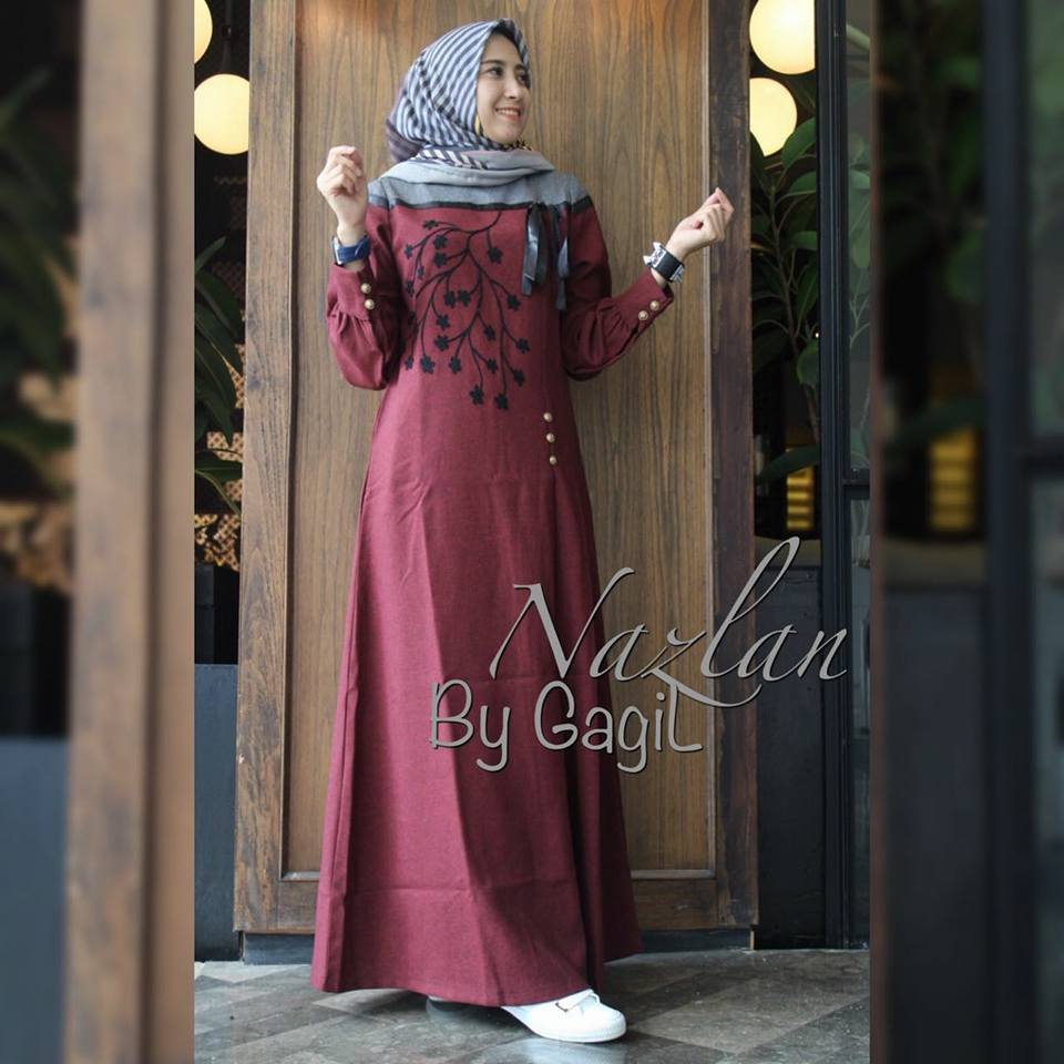 Nazlan dress by Gagil m