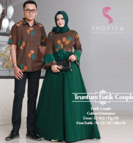 TRUNTUM BATIK COUPLE by SHOFIYA g