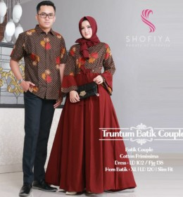 TRUNTUM BATIK COUPLE by SHOFIYA m