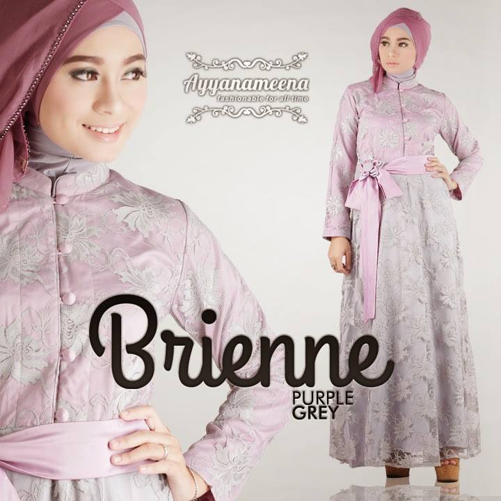 BRIENE PURPLE GREY