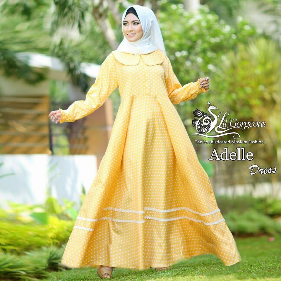 Adelle by Lil Gorgeous Kuning