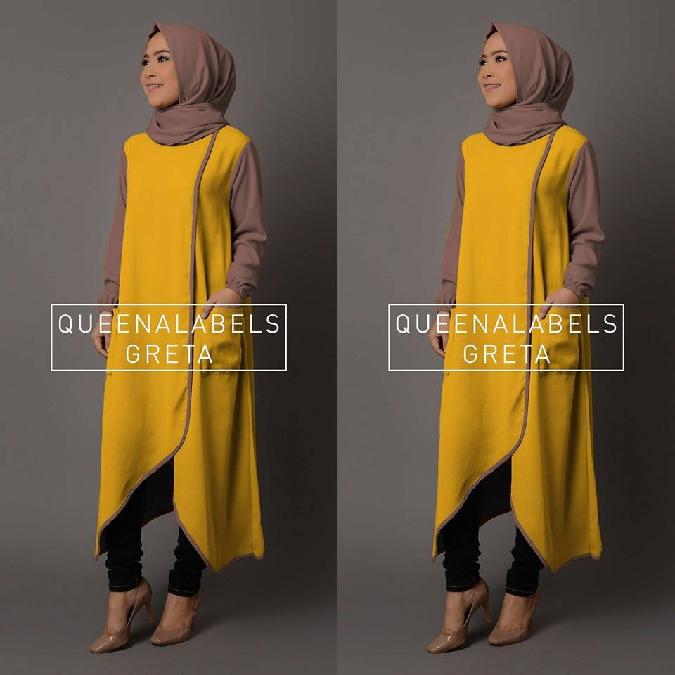Greta by Queenalabels KUNING