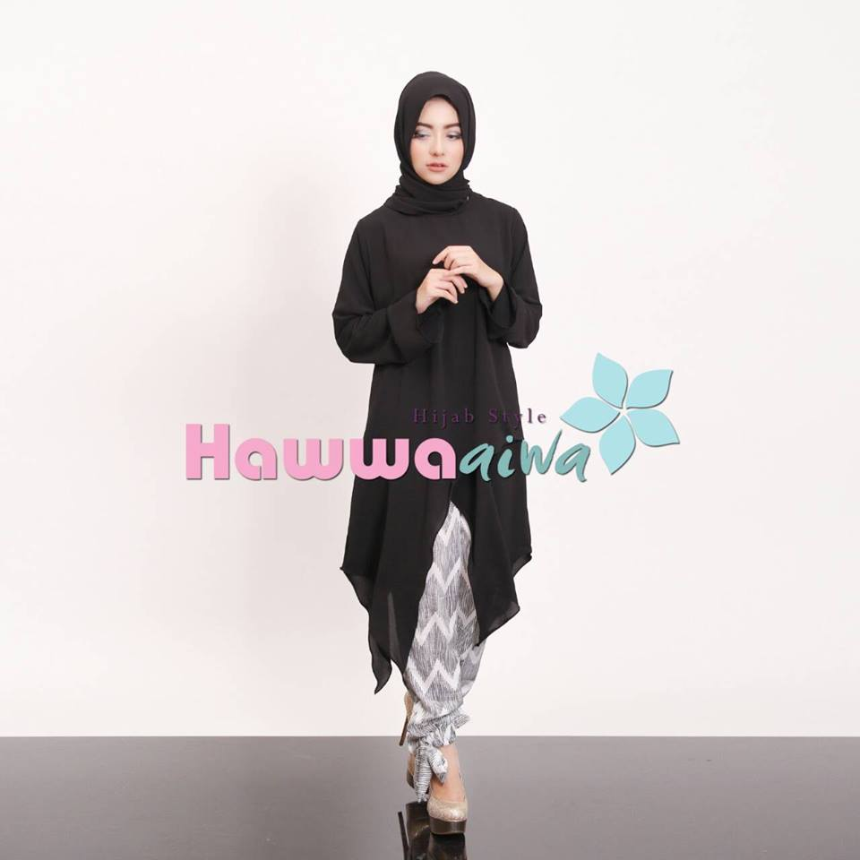 Hazel set by Hawwa HITAM 3